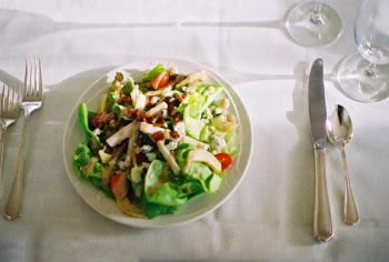 Salads at Joshua Wilton Restaurant